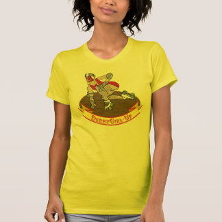 derby girl up Yellow T-Shirt
