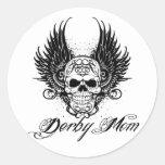 Derby Mum! Round Sticker