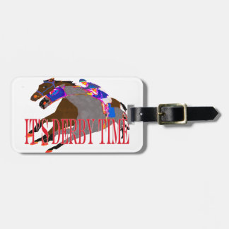 derby time 2016 Horse Racing Luggage Tag