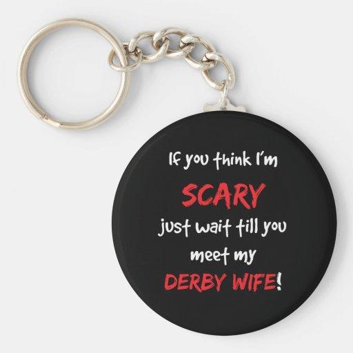 Derby Wife Key Chains