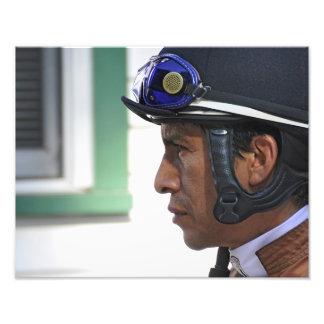 "Derby Winning Rider ""Edgar Prado"" Photograph"