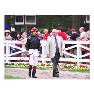 Derby winning Trainer Shug McGaughey Photograph