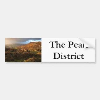 Derbyshire Peak District Bumper Sticker