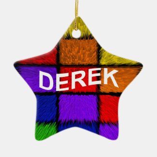 DEREK CERAMIC ORNAMENT