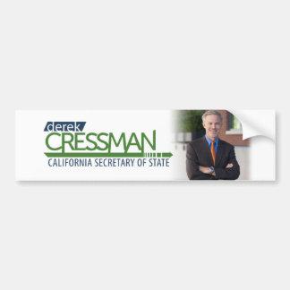 Derek Cressman Bumper Sticker