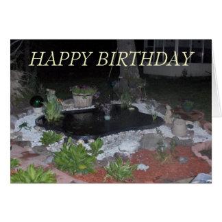 derek pond-1, HAPPY BIRTHDAY Card