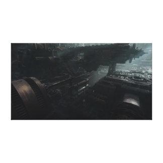 Derelict Ship Canvas Print
