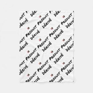 Derivative product - Word games - François City Fleece Blanket