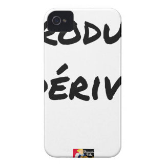 Derivative product - Word games - François City iPhone 4 Case