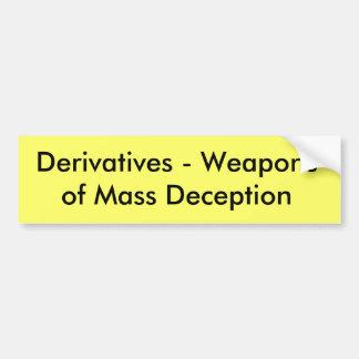 Derivatives Bumper Sticker