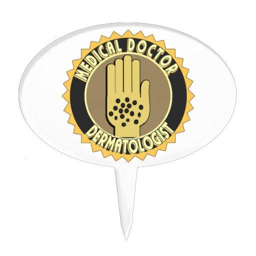 Dermatologist LOGO Cake PicksDermatologist Logo