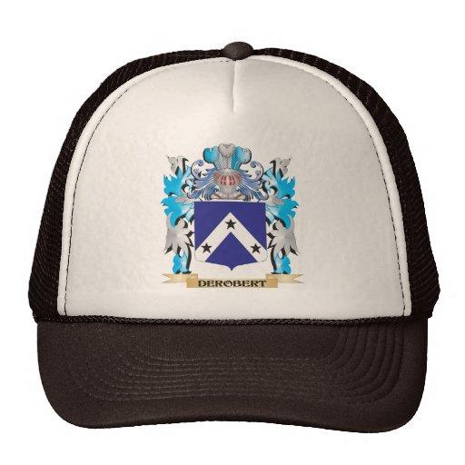 Derobert Coat of Arms - Family Crest Hat