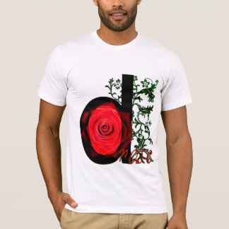 DeRose Fitted Tshirt - Black/Red/Green