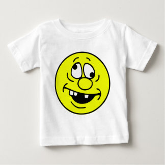 Derp Smiley Face Baby T-Shirt