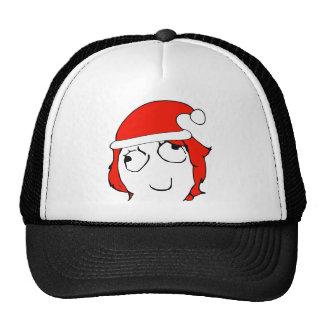 Derpina Xmas Meme Mesh Hat