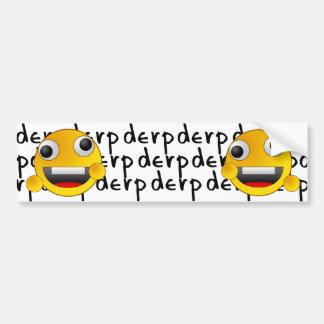 Derps Bumper Sticker