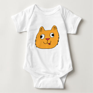 Derpy Cat Baby Bodysuit