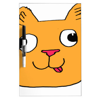 Derpy Cat Dry Erase Whiteboards