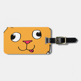 Derpy Cat Luggage Tag