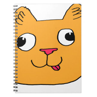 Derpy Cat Spiral Note Books