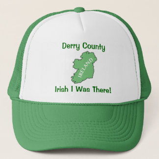 Derry County Ireland Trucker Hat