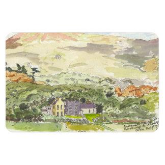 Derrynane House Fridge Magnet