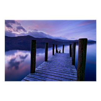 Derwentwater and Catbells, The Lake District Poster