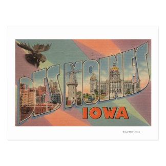 Des Moines, Iowa (Moose Head) Postcard
