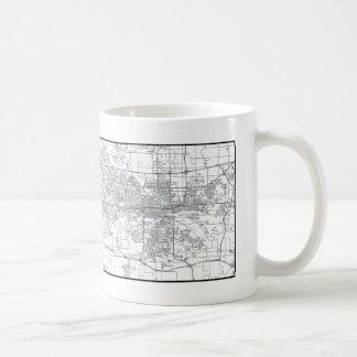 Des Moines Map Mug