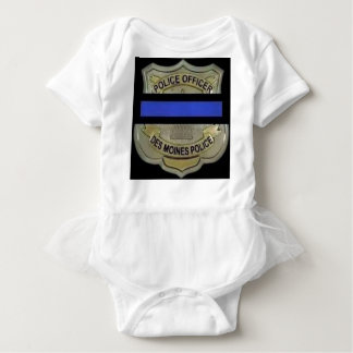 Des Moines Police Baby Bodysuit