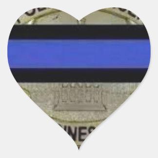 Des Moines Police Heart Sticker