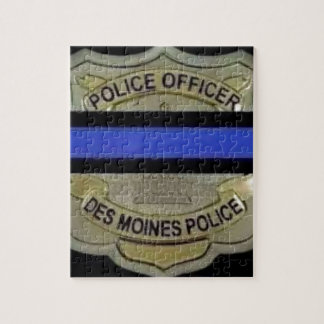 Des Moines Police Jigsaw Puzzle