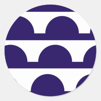 Des Moines, United States Classic Round Sticker