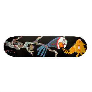 des temp Skateboard