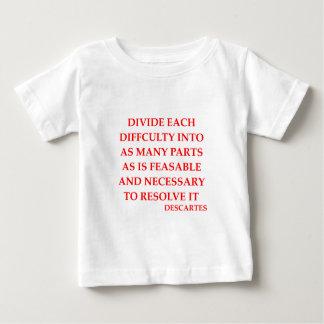 DESCARTES quote T-shirt