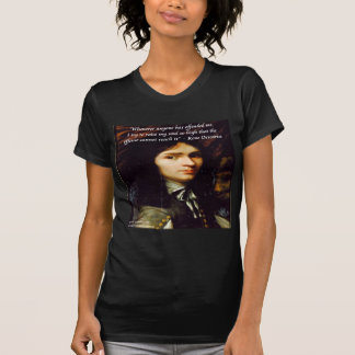 "Descartes ""Raise My Soul"" Famous Quote Tees"