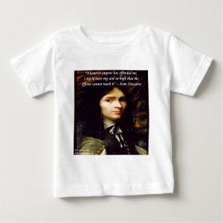 """Descartes """"Raise My Soul"""" Famous Quote Tshirts"""