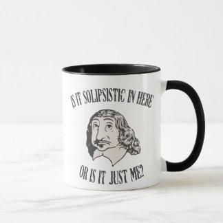 Descartes Solipsistic Mug