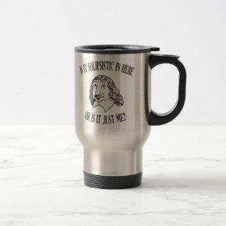 Descartes Solipsistic Travel Mug
