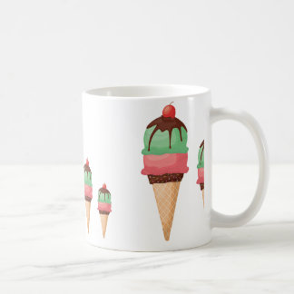 Descending Ice Cream Cones Coffee Mug