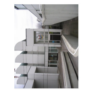 Description: Bauhaus Archiv Berlin - Haupteingang  Postcard
