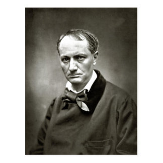 Description Charles Baudelaire (1821-1867) Scanned Postcard