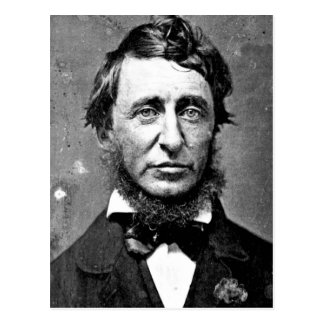 Description Henry David Thoreau (1817-1862) in Jun Postcard