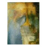 Description J. M. W. Turner - The Burning of the H Postcard