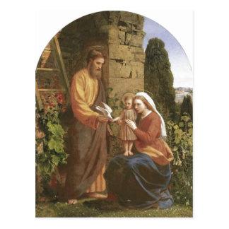 Description James Collinson, Holy Family Originall Postcard