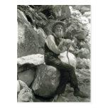 Description John Muir , American conservationist.  Postcard