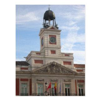 Description Madrid Spain, Puerto del Sol originall Postcard