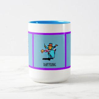 Description of Alcohol Two-Tone Coffee Mug
