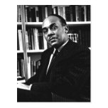 Description Ralph Ellison , noted author and profe Postcard