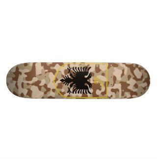 Desert Albania State Emblem 19.7 Cm Skateboard Deck